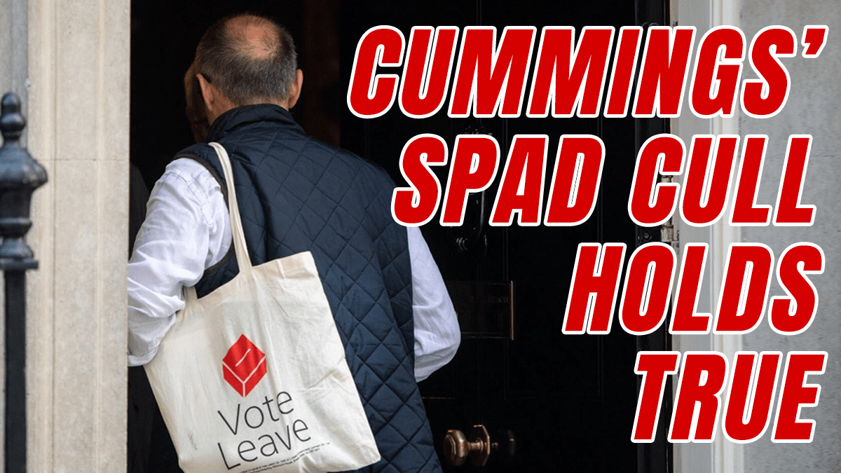 25% of SpAds Culled So Far - Guido Fawkes