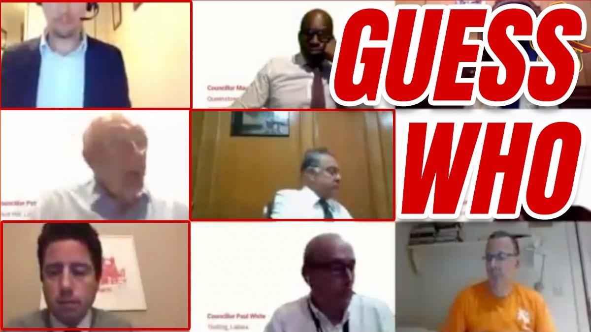 WATCH: Wandsworth Councillor Caught Watching Dirty Dancing During Black Lives Matter Debate