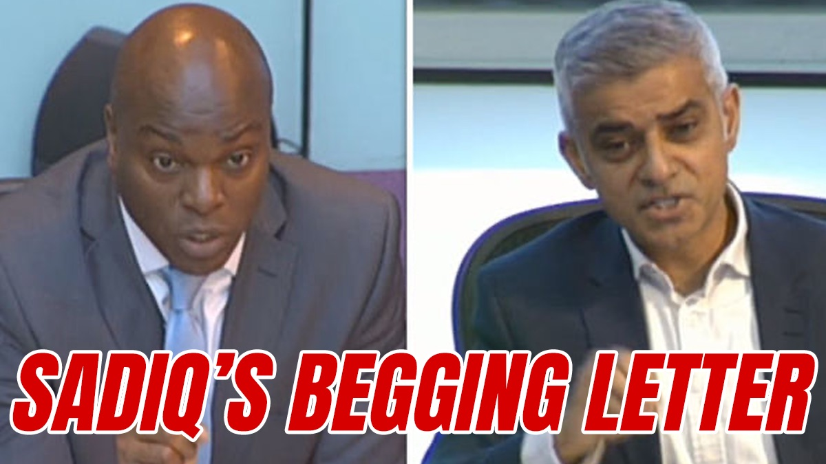 """Exclusive: Sadiq Begs Bailey for Help in """"Putting Pressure on the Government"""""""