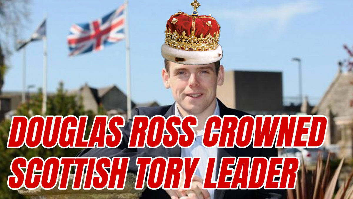 Douglas Ross Crowned as New Scottish Tory Leader