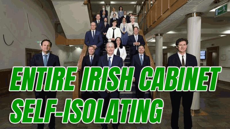 irish cabinet isolating