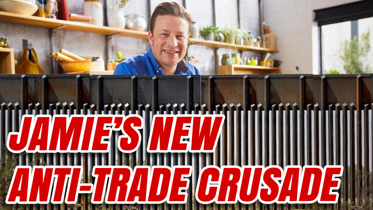 Jamie Oliver Claims Free Trade Makes Kids Fat