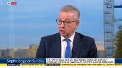 Gove Downgrades his Brexit Deal Likelihood Prediction