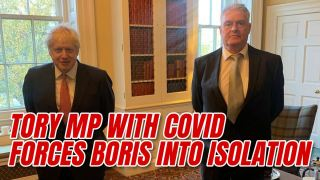 Test and Trace Tell Boris to Self-Isolate