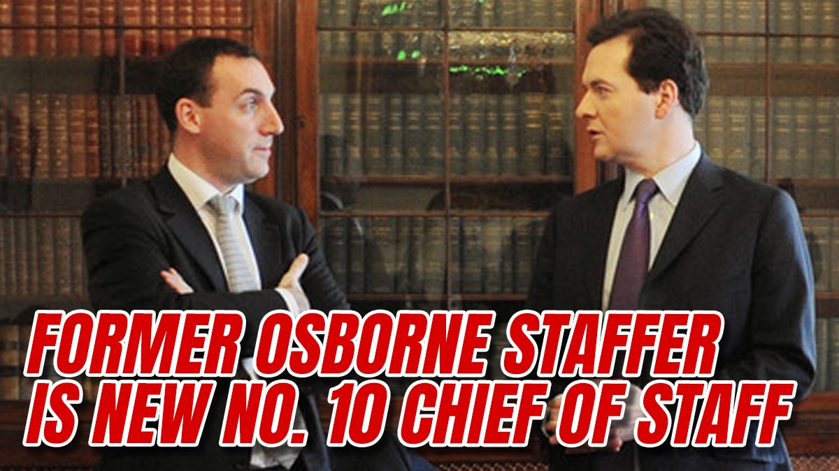 Dan Rosenfield Announced as New No. 10 Chief of Staff