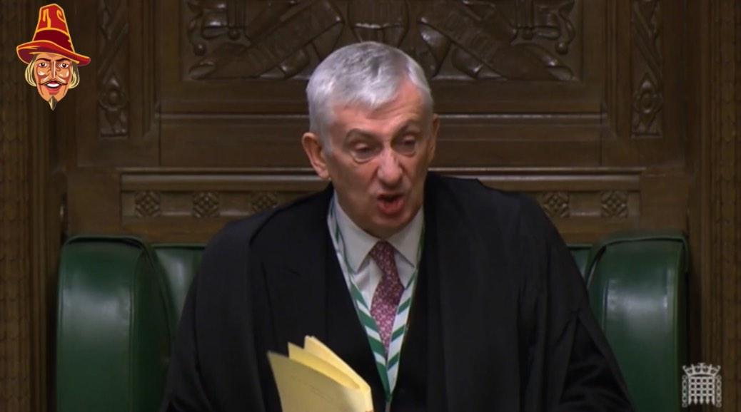 Furious Speaker's Delight at Government Website Crash