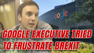 Google Executive Boasted of Blocking Conservative Party Advertising