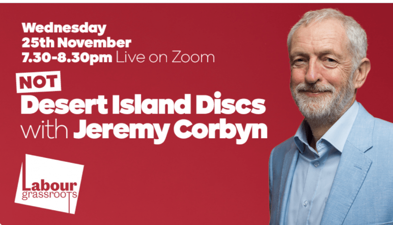 Corbyn Castaway by Labour Grassroots