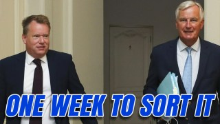Seven Days Until New Brexit Crunch