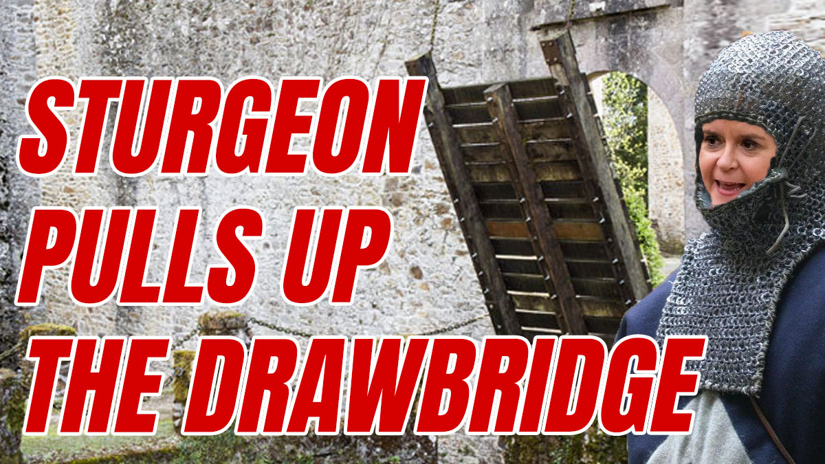 Sturgeon's New Hard Border to England