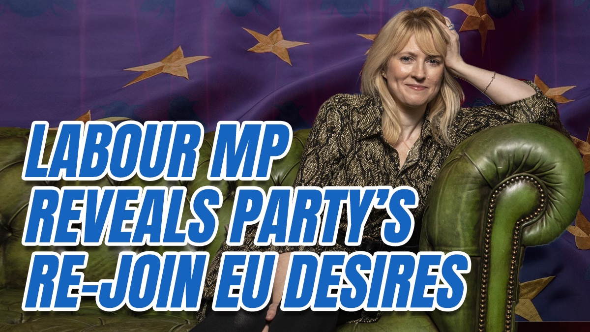 """Labour MP Admits Majority of Labour MPs are """"Desperate to Rejoin"""" the EU """"at Heart"""""""