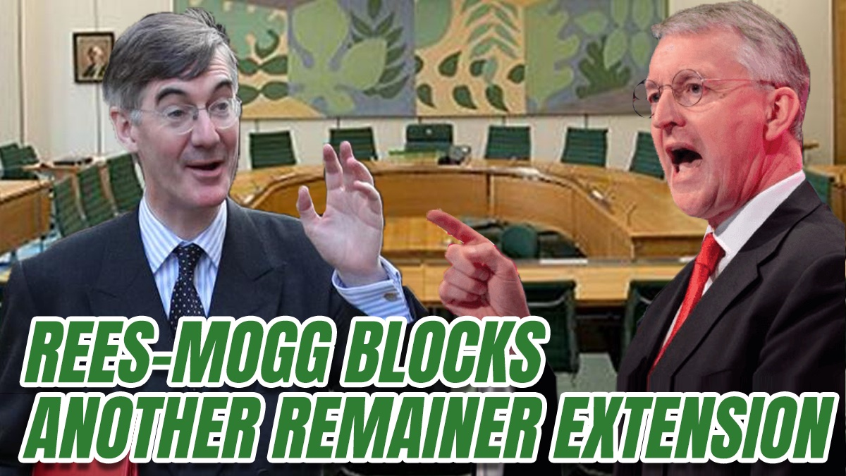 EXCLUSIVE: Jacob Rees-Mogg Rings Death Knell for Hillary Benn's Remainer Committee