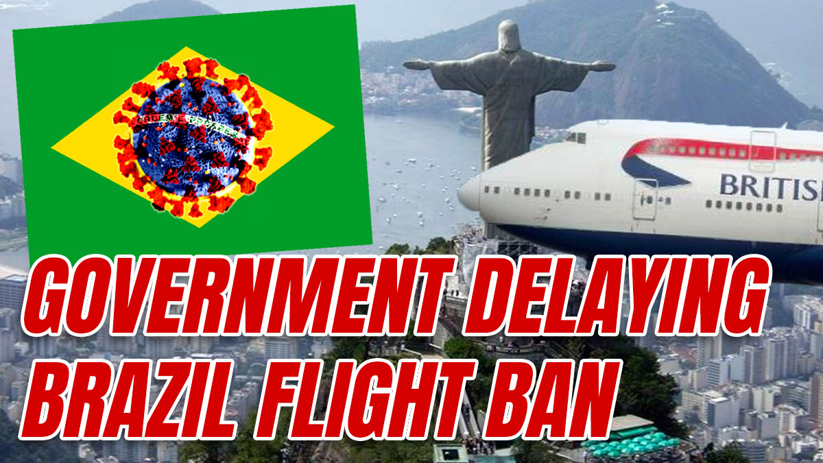 Government Delayed Banning Potentially Deadly Brazilian Flights