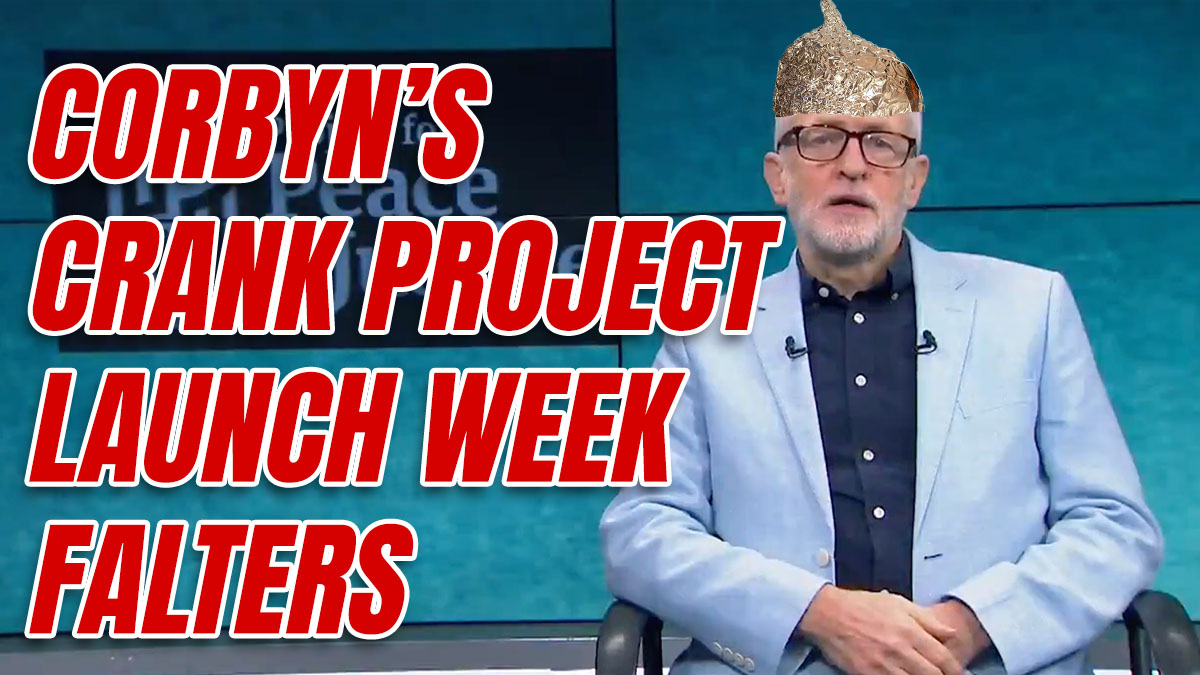Corbyn Using 9/11 Truther Rapper to Promote Launch of Peace & Justice Project
