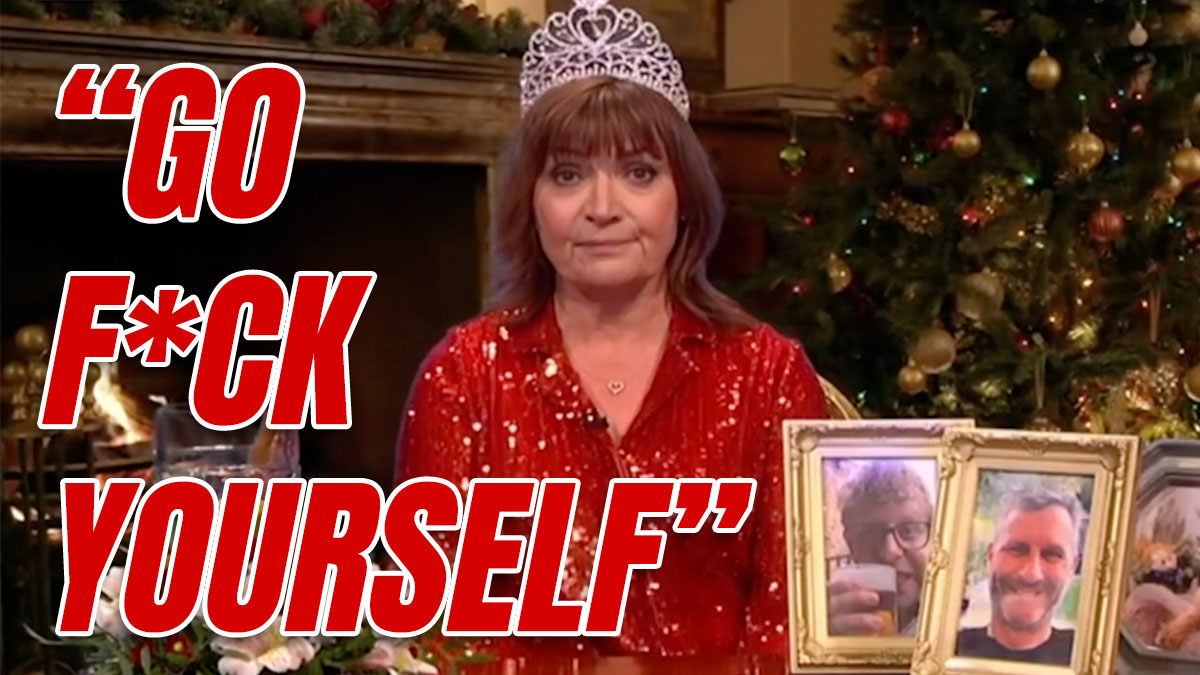 """Lorraine Kelly's Message to Piers Morgan:""""Go F*#k Yourself"""""""