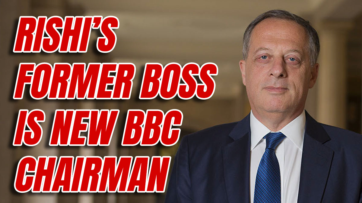 New BBC Chairman Close to Tory Party