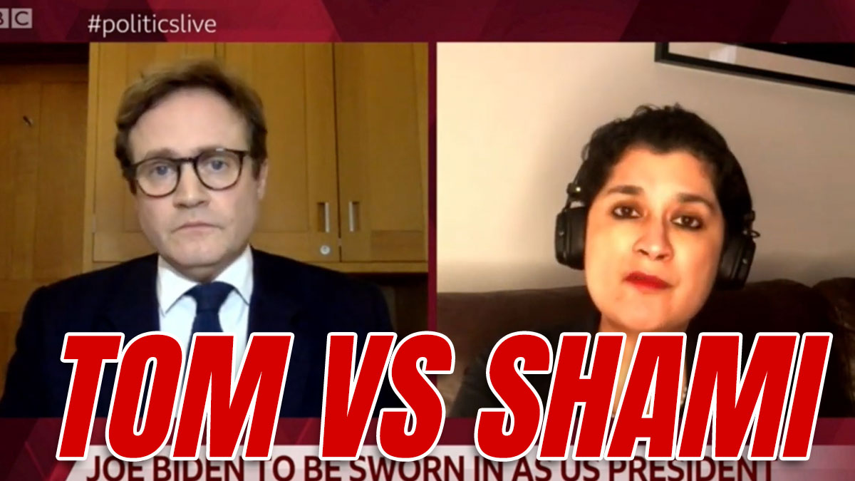 "WATCH: Tom Tugendhat Tells Shami Chakrabarti She ""Only Got Her Peerage"" for Covering Up Antisemitism"