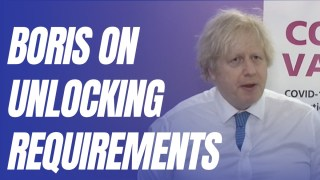 Boris Rejects Covid Recovery Group Strategy