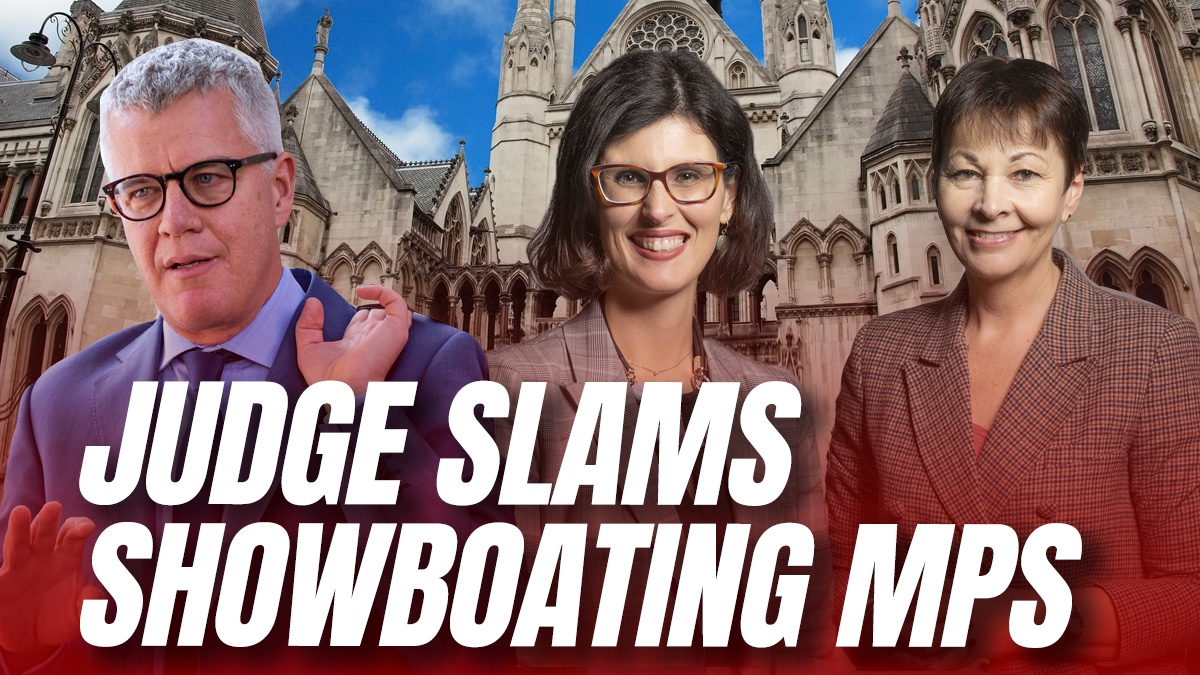 Left-Wing MPs Slammed by Judge for Using Court Cases as Personal Publicity