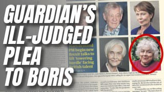 Guardian Appeal to Government With 'Hope Boris Dies' Actor