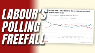 Labour 10 Points Behind Tories, Starmer 10 Points Behind Boris