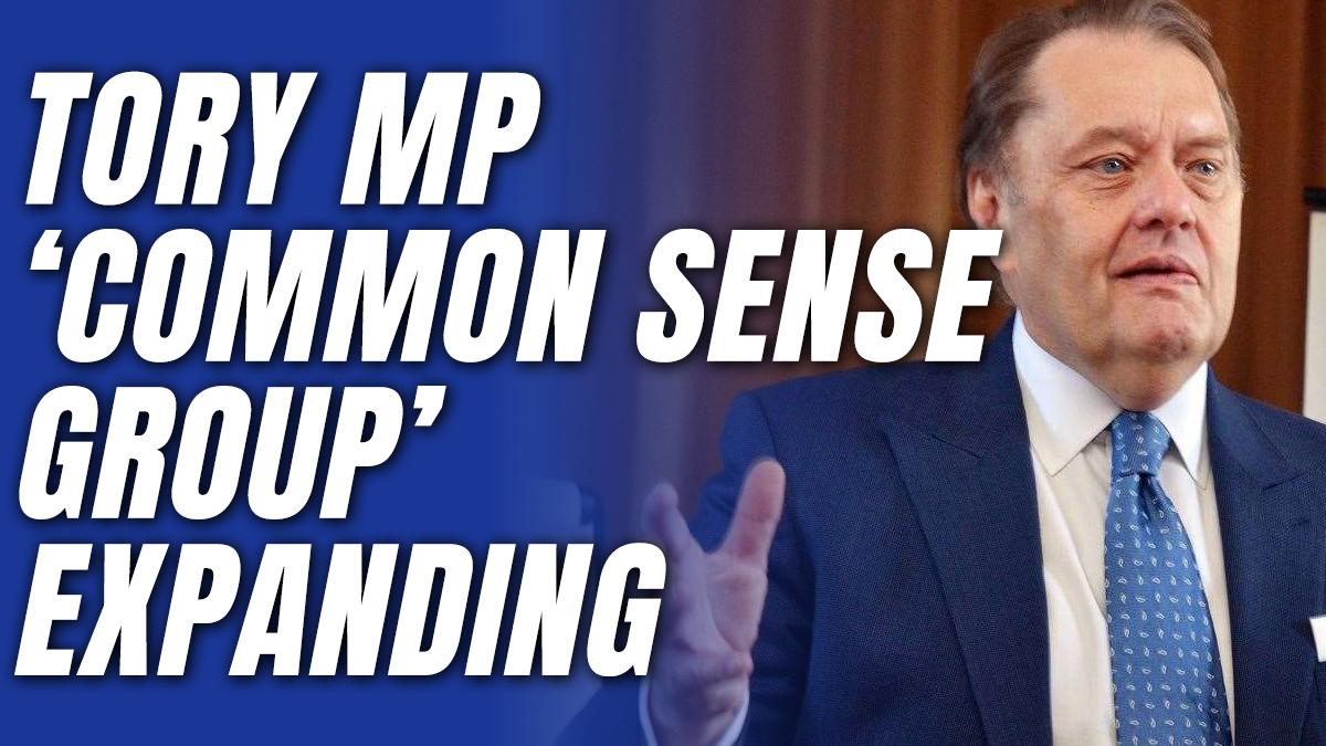 "Tory MP ""Common Sense Group"" Begin ERG-Style Relaunch"