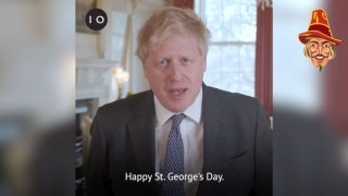 """WATCH: Boris Calls for Celebration of St. George's Day """"Without Embarrassment, Without Shame"""""""