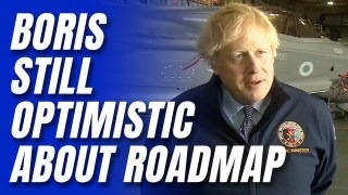 """[WATCH] Boris: """"Nothing in the Data"""" to Derail Freedom Roadmap"""