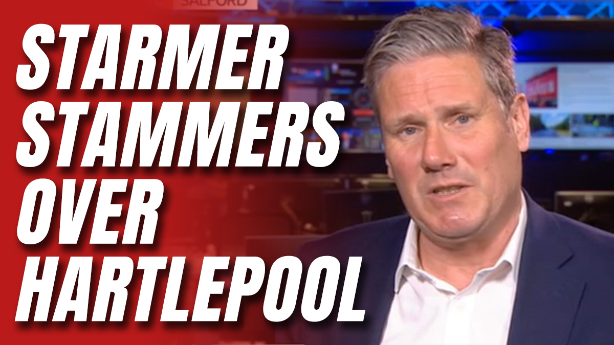 STARMER STAMMERS