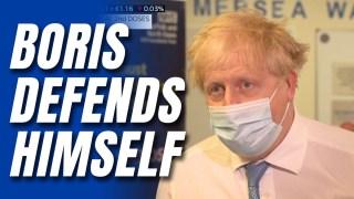 WATCH: Boris Dismisses Cummings's Covid Criticism