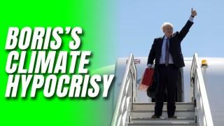 Boris's G7 Jet Hypocrisy