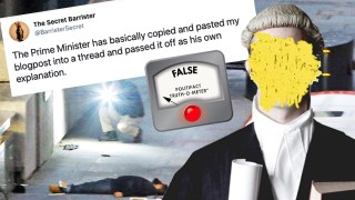 """FactCheck: the Secret Barrister's Boasting and """"Weapons-Grade Pomposity"""""""