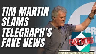 """Tim Martin Claims Telegraph """"Misreported"""" Him Over Calls for More EU Migration"""