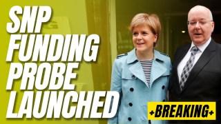 Scottish Police Launch SNP Fraud Probe