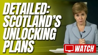 Sturgeon Confirms Scotland Will Move to Level 0 on July 19, Though Face Masks to Remain Mandatory