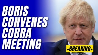 Boris Convenes Emergency Cobra Meeting on Afghanistan