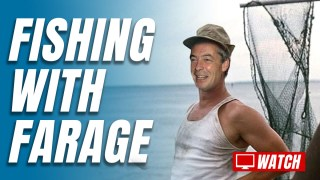 Farage Uses Holiday to Take Back Control of Our Waters