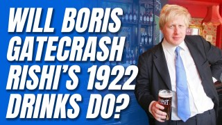 Tory MPs' Rishi Lobbying Bonanza at Commons Drinks Reception