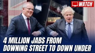UK Bails Australia Out with Four Million Pfizer Dose Swap