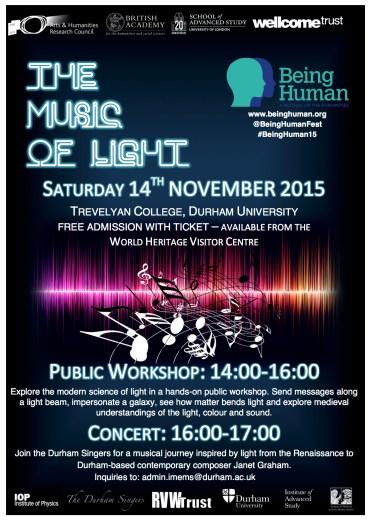 Music and Light Poster