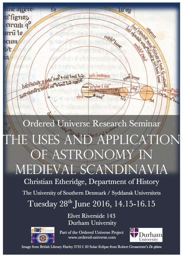 Astronomy in Scandinavia Poster