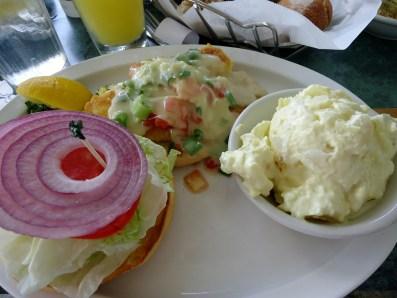 Lazy Days Style Yellowtail Fresh Catch Sandwich at Lazy Days South