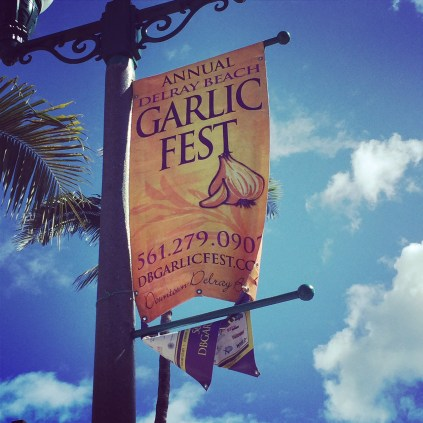 16th Annual Delray Beach Garlic Fest