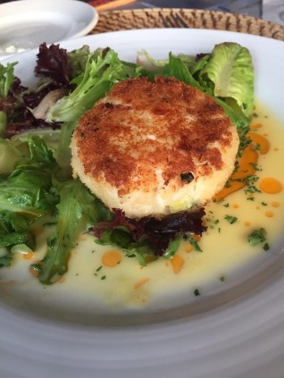 Island Shrimp and Crab Cake at Roof Top Café - 308 Front Street, Key West - rooftopcafekeywest.com