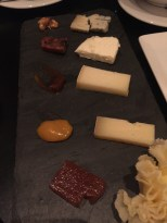 Aged cheese plate at The Lambs Club