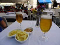Beers and snacks in Amalfi
