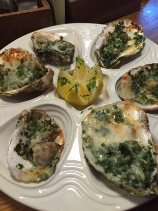 Oysters Rockefeller at Union Oyster House