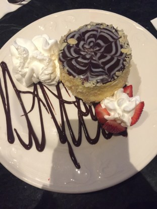 Boston Cream Pie at Omni Parker House