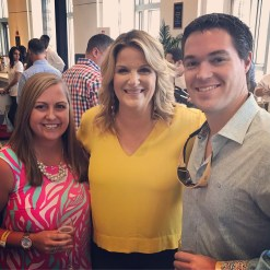 With the lovely Trisha Yearwood