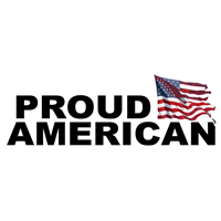 Proud American and Veteran Decals